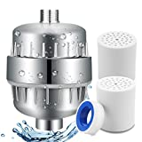12 Stage Shower Filter,Water Purifier Hard Water Softener with Replacement Cartridges, Fit Most Shower Head and Handheld Shower, Remove Chlorine Fluoride Heavy Metals for Hair & Skin Health