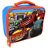 Nickelodeon Blaze and the Monster Machines Boys Hand Carry Insulated School Lunch Bag Box