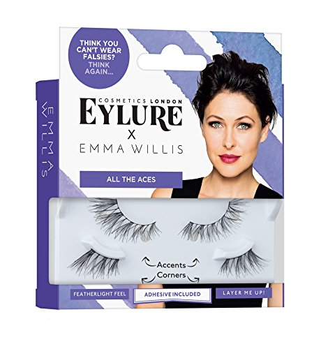7005cf64bdf Eylure x Emma Willis Strip Lashes- All The Aces: Amazon.co.uk: Beauty