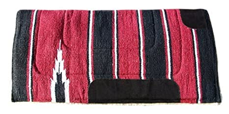 TintPets WESTERN SADDLE PAD NUMNAH COWBOY FLEECE 30X30 SIZE IN MANY COLOR