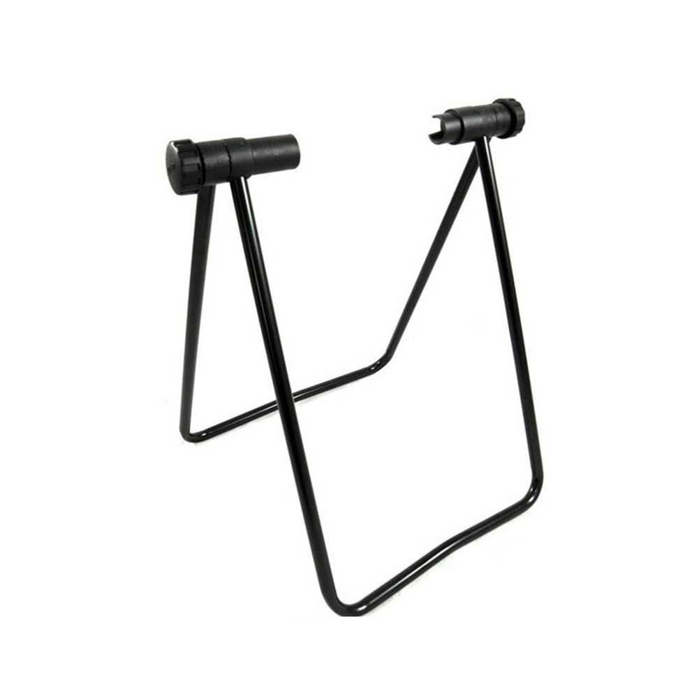 GETMORE7 Mountain Bike Floor Rack Stand Parking Holder Maintenance Rack Double U Shape Folding
