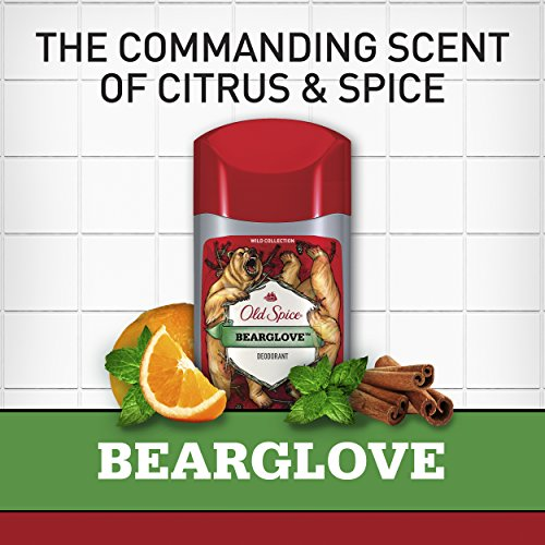 Old Spice Wild Scent Deodorant for Men, Bearglove, 3 Ounce, 3 Count by Old Spice (Image #4)