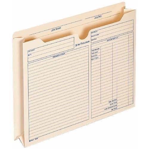 Adams 2 Inch Expanding Job Folder, , 9.5 x 11.75 Inches, Manila, 15 per Pack (9294E) supplier