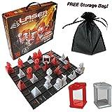 The Laser Game: Khet 2.0 & Eye of Horus Beam Splitter w/ FREE Storage Bag