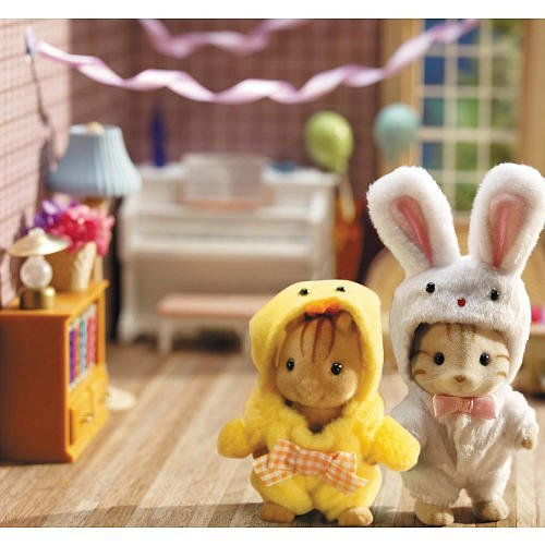 [Calico Critters Costume Critters - Bunny and Chick] (Halloween Costumes For The Family)