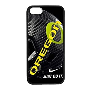 UO NCAA Oregon Ducks Faceplate Hard Case Cover For IPhone 5 5S TPU-Nike Just Do It