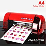 DC-240 A4 size cutting Plotter carving machine label scriber label sheet draw lines machine label slitting machine Optical positioning