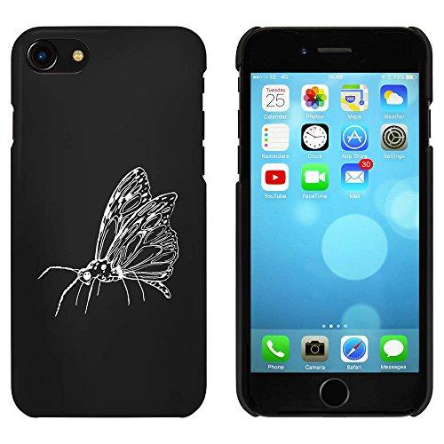 Noir 'Papillon' étui / housse pour iPhone 7 (MC00057395)