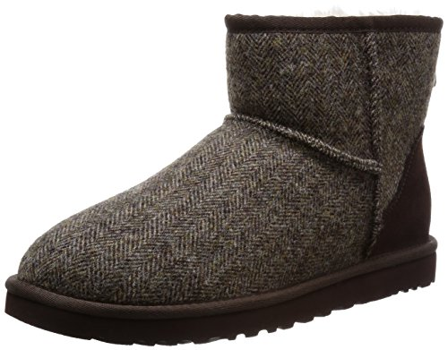Ugg Australia Menns Mini Tweed Boot Stout Ull