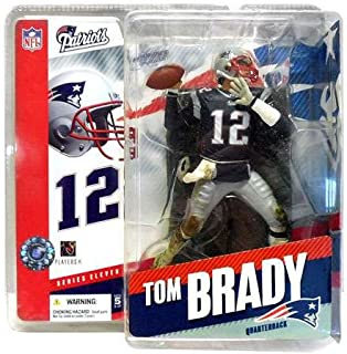 McFarlane NFL Series 11 Figure: Tom Brady New England Patriots Navy Jersey Six Inch Action