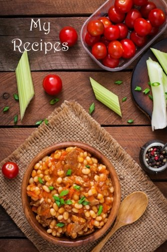 My Recipes (Blank Cookbooks) (Volume 58) by Recipe Junkies