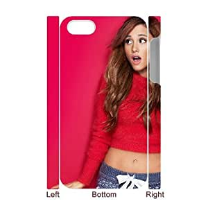 HXYHTY Diy hard Case Ariana Grande customized 3D case For Iphone 4/4s