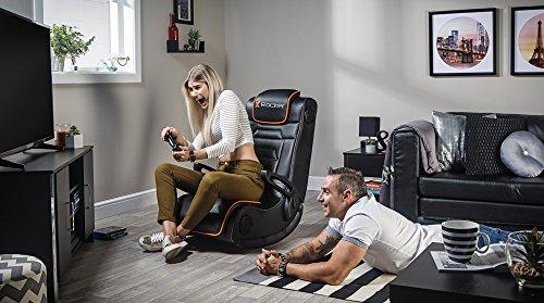X Rocker Sentinel 4 1 Floor Rocker Gaming Chair With 4 1