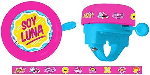 Timbre Ring Ring Niña Infantil Soy Luna a Manillar de Bicicleta ...