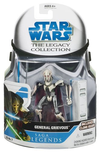 Legend Assortment - general grievous star wars saga legends assortment figu (style and colors may vary) by Star Wars