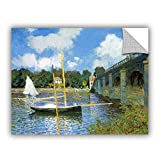 ArtWall Claude Monet's The Bridge of Argenteuil Art