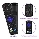 SofaBaton R2 Universal Remote Control Replacement for Roku Streaming Player with 13 Extra Programmable IR Learning Buttons to Control Your Roku 1 2 3 4 Premier+ Express+ Ultra,NOT for Roku Stick