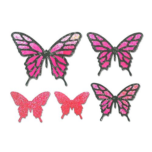 Sizzix Thinlits Die Set Butterflies, Intricate, Pack of 8