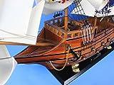 Hampton Nautical Wooden Spanish Galleon Tall