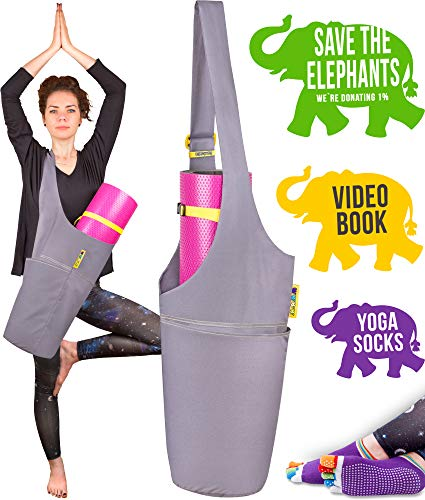 Jambala Yoga Mat Bag and Grip Socks Bundle – Large for sale  Delivered anywhere in USA