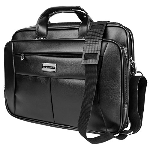 15.6 inch Vangoddy 2 in 1 Multipurpose Black Removable & Adjustable Shoulder Strap Travel Carrying Barrow Laptop Bag for 14-15.6 inch Laptop - for Dell Inspiron 14 3000 Series