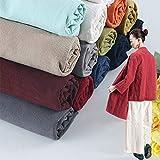 Summer Linen Cotton Fabric Organic Material Pure