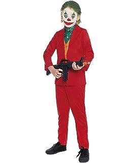 Disfraz Mad Clown Joker Hombre Cine y TV (Talla S) (+ Tallas ...