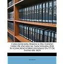 Constitución Política Del Estado Libre De Zacatecas: Sancionada Por Su Congreso Constituyente En 17 De Enero De 1825 (Spanish Edition)