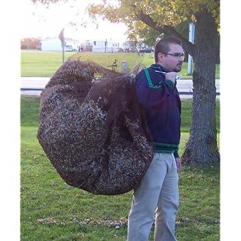 Amazon Com Leaf Net Used Like A Tarp Forms A Bag With