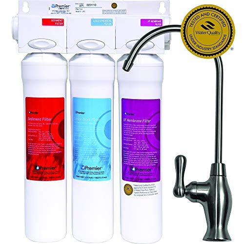 Watts Premier 531130 Filter-Pure UF-3 3-Stage Water Filtration System - WQA Certified ()