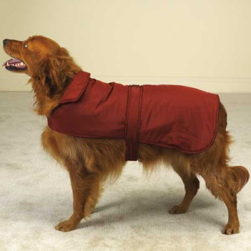 Coats Dog Barn Red (Casual Canine Reversible Barn Coat for Dogs - Red - Medium (Med))