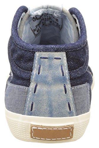 Basses Industry Bleu Pepe Dk Homme Sneakers Tenugui Jeans Denim wUSqRpF