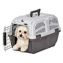 Midwest Home For Pets Skudo Plastic Carrier, 19-Feet