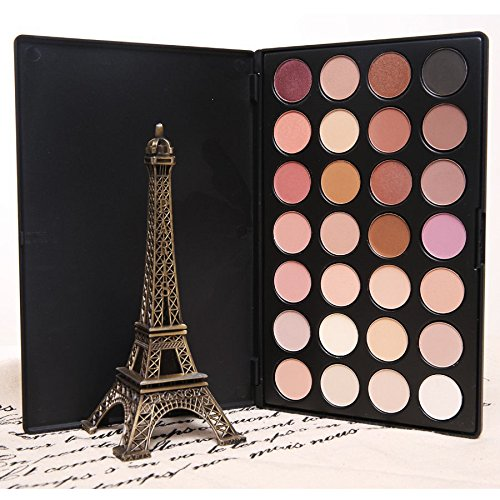 Micropromo New Professional Neutral Warm Colors Makeup Eyeshadow Palette Eye Shadow (28 Colors)