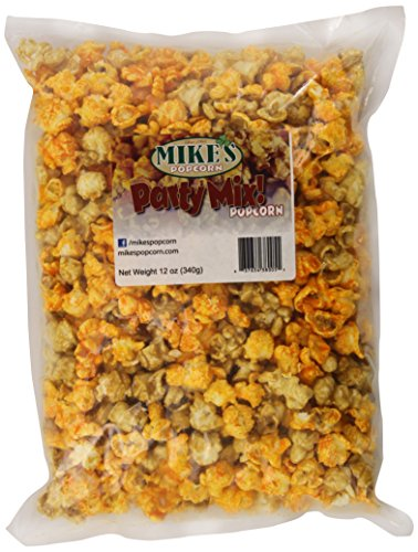 Mike's Popcorn Party Mix Popcorn, 12-Ounce