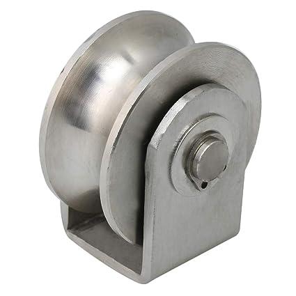 BQLZR - Rodillo deslizante de acero inoxidable de 4,8 x 5,35 x