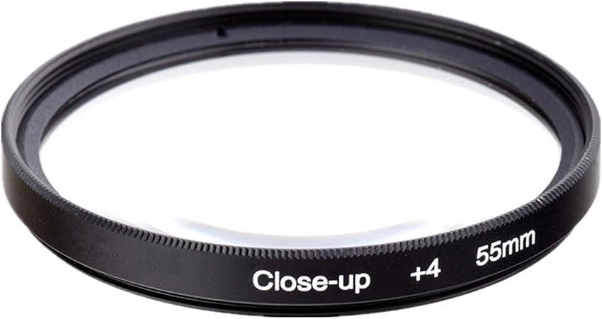 Genérico 55mm Macro Close-Up + 4 Filtro de Lente para Cámara ...