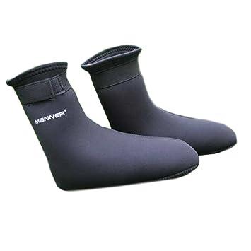 Kangzy Calcetines gruesos de buceo para mujer, tipo mojado, calcetines cálidos: Amazon.es: Deportes y aire libre