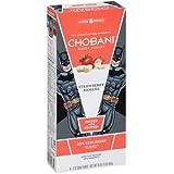 Chobani Kids Strawberry Banana Greek Yogurt Tubes, 16 Ounce - 8 per case.