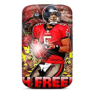 Galaxy S3 Case Cover - Slim Fit Tpu Protector Shock Absorbent Case (tampa Bay Buccaneers)