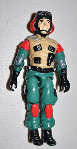 Vintage Lift-Ticket (v1) - G.I.Joe 1986 Hasbro - Action Figure - Doll Toy G I Joe Cobra - Loose Out of Package & Print (OOP)