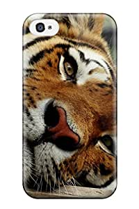 Pretty XjzKyrY6669ngeFR Iphone 4/4s Case Cover/ Tiger Series High Quality Case