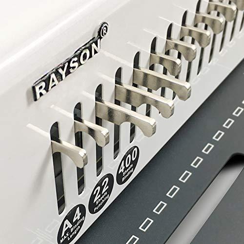 Rayson SD-220B Binding Machine Paper Punch Binder With