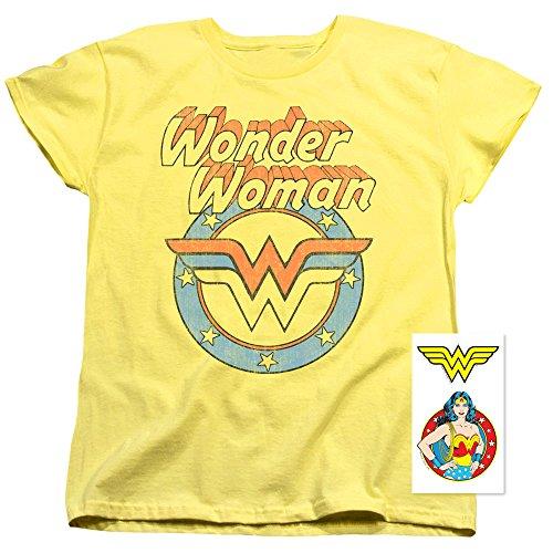 Popfunk Wonder Woman Officially Licensed T-Shirt -