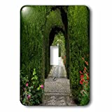 Danita Delimont - Gardens - Granada, Spain, Alhambra, hedges and green arches and plants - Light Switch Covers - single toggle switch (lsp_227917_1)