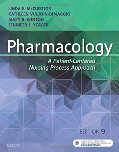 Pharmacology: A Patient-Centered Nursing Process Approach, 9e cover