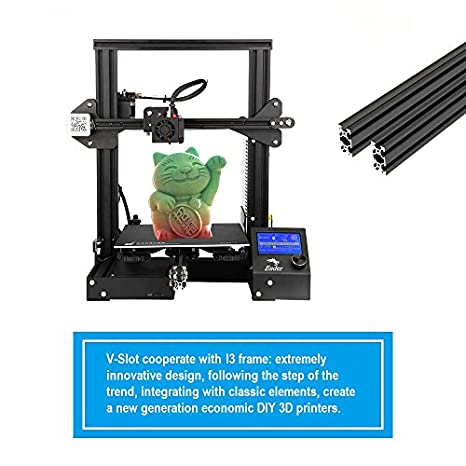 Amazon.com: Creality 3D Ender-3 - Impresora 3D de alta ...