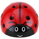 Cheap DRBIKE Kids Multi-Sport Helmet – Ladybug Child Helmet Adjustable Helmet for Cycling Skate Scooter, Child Helmet for Boys, Preschool, Toddler, Age 3-8 (52-57cm)
