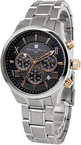 Salvatore Marra Chronograph Watch Men's SM15102-SSBKPG