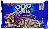 Kellogg's Pop-Tarts Breakfast Toaster Pastries, Frosted Hot Fudge Sundae Flavored, Bulk Size, 144 Count (Pack of 12, 20.3 oz Boxes)